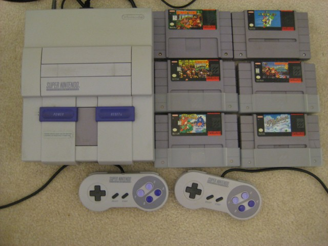 na craigslist snes system and games
