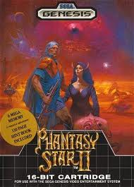 Phantasy Star 2 Sega Genesis Box