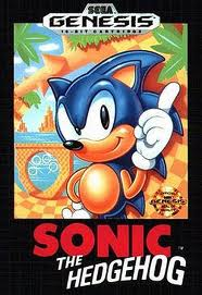 Sonic the Hedgehog Sega Genesis Box