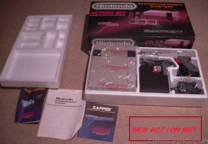 Nintendo NES Action Set in Box