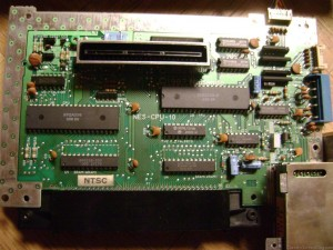 Nintendo NES Motherboard Version 10 from 1987