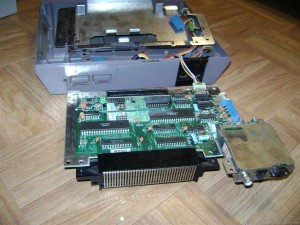 Nintendo NES Motherboard Removed