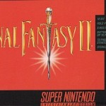 Final Fantasy 2 SNES Box Front