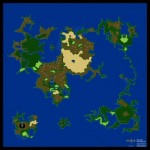 Final Fantasy 2 SNES Map