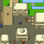 Final Fantasy 2 Town