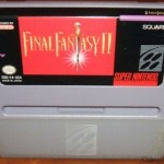 Final Fantasy 2 SNES Cart