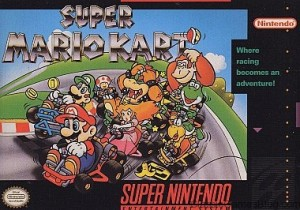 Super Mario Kart Box for Super Nintendo SNES