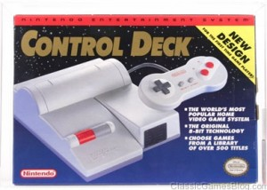 Nintendo NES Top Loader Box