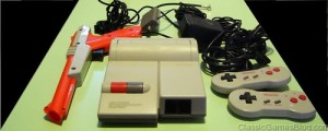 Nintendo NES Top Loader and Controllers