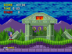 Sonic the Hedgehog Gameplay