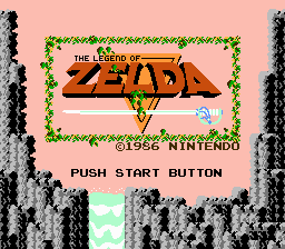 Zelda Title Screen