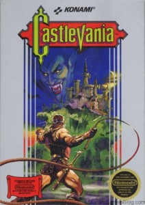 Konami Castlevania Box For Nintendo Entertainment System