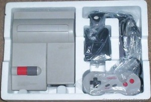Nintendo NES Top Loader in open box