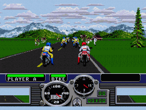 Road Rash Gameplay