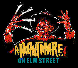 Nightmare on Elm Street Title Freddy