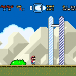 Super Mario World End of Level