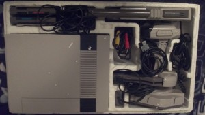 NES Deluxe Set Box Contents