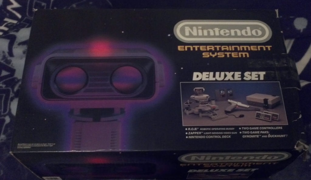 NES Deluxe Set Box Front