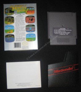 Bayou Billy NES Complete in Box - Back