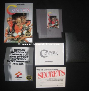 Contra NES Complete in Box - Front