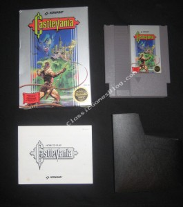 Castlevania NES Complete in Box - Front