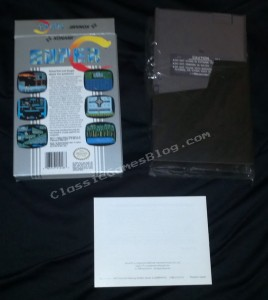 Super C Complete in box (CIB) for the Nintendo NES - Back view