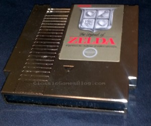 The Legend of Zelda Cart for the Nintendo NES