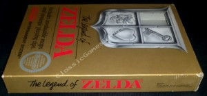 Box Side View for the Nintendo NES