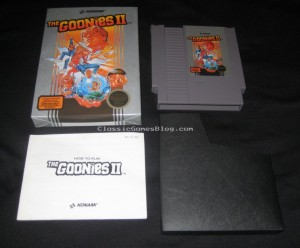 The Goonies II for NES Complete in Box