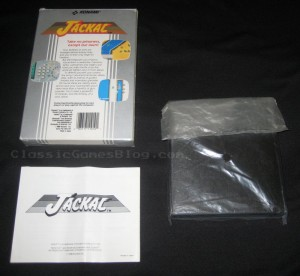 Jackal NES CIB (Complete in Box) Back