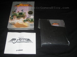 Jackal NES CIB (Complete in Box) Front