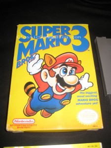 Super Mario Bros 3 NES Box Front