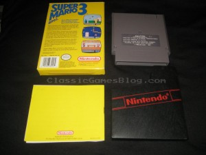 Super Mario Bros 3 NES CIB Back
