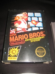 Super Mario Bros NES Box Front