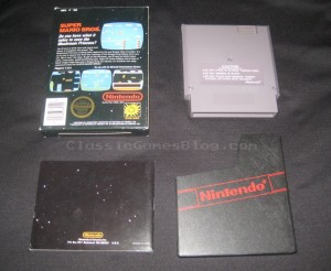 Super Mario Bros NES CIB Back