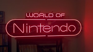 World of Nintendo Neon Sign