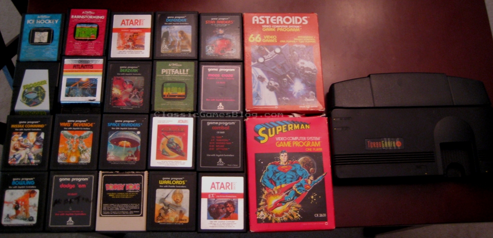 Atari 2600 Games and TurboGrafx16