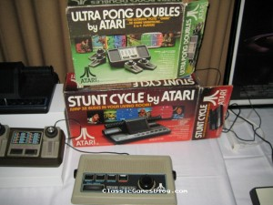 Atari Pong & Stunt Cycle
