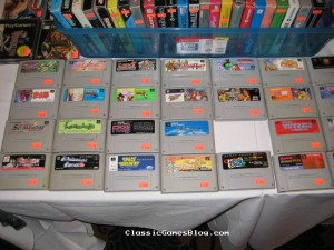 Boxed NES and Super Famicom Games
