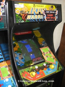 Ikari Warriors Arcade Machine