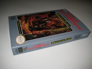 Advanced Dungeons & Dragons Dragons of Flame Front Side