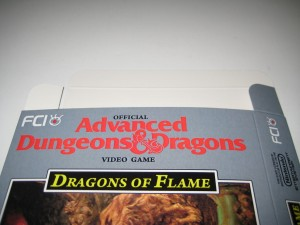 Advanced Dungeons & Dragons Dragons of Flame Top