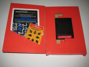 Advanced Dungeons and Dragons Intellivision Complete in Box