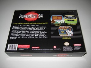 PowerFest 94 Back