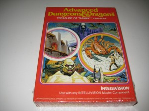 Sealed Advanced Dungeons and Dragons Treasue of Tarmin Intellivsion