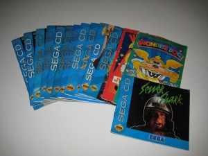 Sega CD Instruction Manual Collection