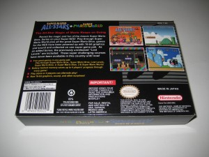 Super Mario All Stars & Super Mario World Back