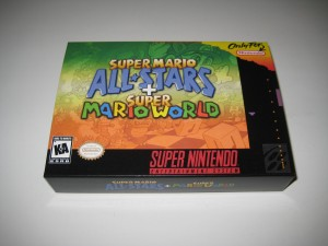 Super Mario All Stars & Super Mario World Front