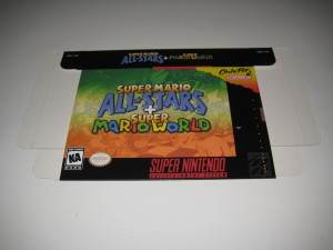 Super Mario All Stars & Super Mario World Front Flat